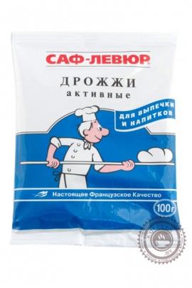 Дрожжи САФ-ЛЕВЮР хлебопекарные сухие активные, 100г