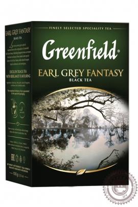 """Чай GREENFIELD """"Earl Grey Fantasy"""" (с бергамотом) 200 г чёрный"""