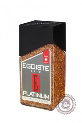 """Кофе EGOISTE """"Platinum"""" растворимый 100г"""