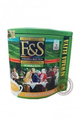 "Чай ""F&S"" Nuwara Eliya черный 100 гр ж/б"