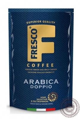 """Кофе Fresco """"Doppio"""" 190г, растворимый сублимированный"""