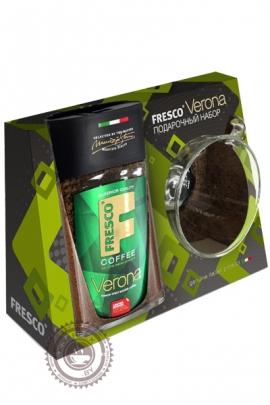 """Подарочный набо кофе Fresco """"Verona"""" + чашка 95 г"""