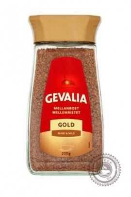 """Кофе GEVALIA """"Gold"""" растворимый 200г  ст/б"""