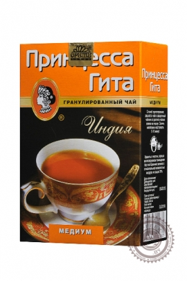 """Чай Принцесса Гита """"Медиум"""" черный гранулированный чай, 100 г"""