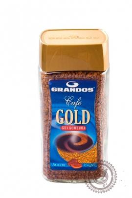 """Кофе Grandos """"Cafe Gold"""" растворимый без кофеина 100 г"""