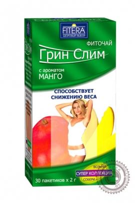 "Чай Грин Слим ""Манго"" 30 пакетов"