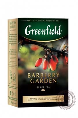 """Чай GREENFIELD """"Barberry Garden"""" (с барбарисом) 100г черный"""