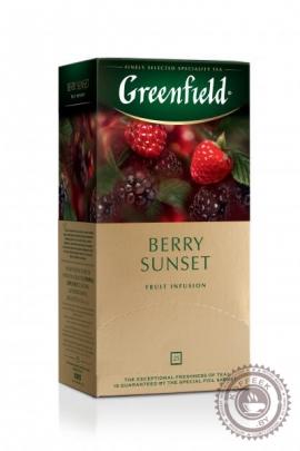 "Чайный напиток GREENFIELD ""Berry sunset"" 25 пакетов"