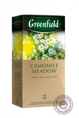 "Чай GREENFIELD ""Camomile Meadow"" (ромашка+мелисса+личи) 25 пак травяной"