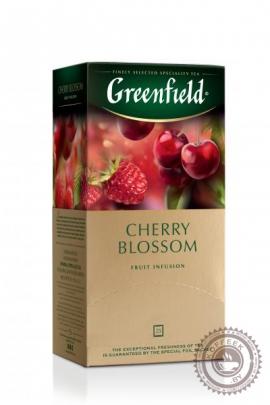 "Чайный напиток GREENFIELD ""Cherry Blossom"" 25 пакетов"