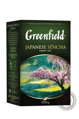 """Чай GREENFIELD """"Japanese Sencha"""" 100г зелёный"""