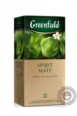 """Чай GREENFIELD """"Spirit Mate"""" травяной 25 пакетов"""