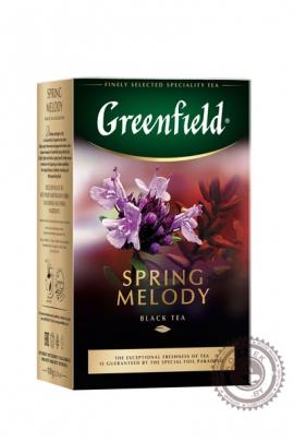 "Чай GREENFIELD ""Spring Melody"" (с чабрецом) 100г черный"