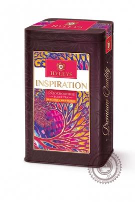 """Чай Hyleys """"INSPIRATION"""" черный с добавками 80гр в ж/б"""