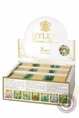 """Чай HYLEYS """"7 вкусов"""" 100 пак (ассорти)"""