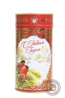 """Чай Hyleys """"Снегири"""" черный и зеленый 90гр"""