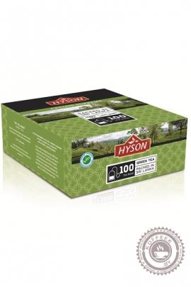 """Чай HYSON """"Green Tea"""" 100 пак зеленый"""