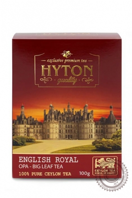 "Чай Hyton ""English Royal OPA"" черный 100г"