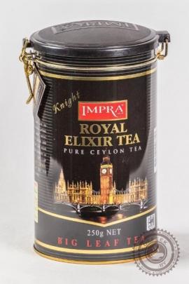 """Чай IMPRA """"Royal Elixir Tea"""" черный 250г в ж/б"""