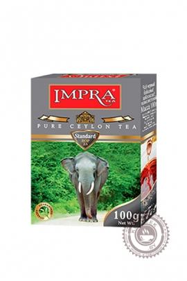 """Чай IMPRA """"Standart"""" черный мелколистовой 100г"""