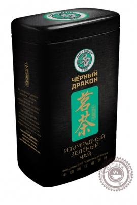 """Чай Чёрный Дракон """"Изумрудный"""" зеленый 100 г в ж/б"""