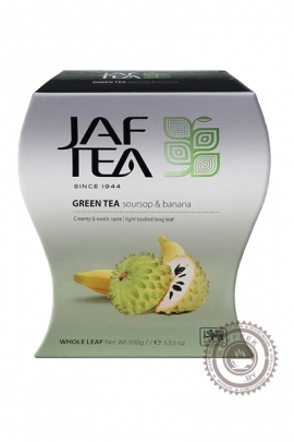 "Чай JAF TEA ""Sausep & Banana"" зелёный 100 г"