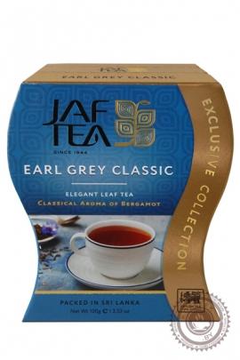 """Чай JAF TEA """"Earl Grey""""  черный 100 г с бергамотом"""