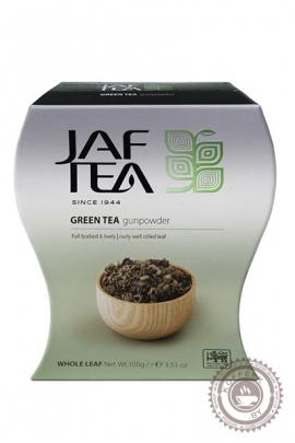 "Чай JAF TEA  ""GREEN TEA GUN POWDER"" 100г зеленый"