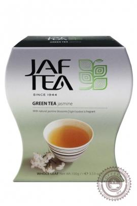 """Чай JAF TEA """"Jasmine"""" (с жасмином) 100г зеленый"""