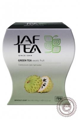 """Чай JAF TEA """"Exotic Fruit """" с суасепом 100г зелёный"""
