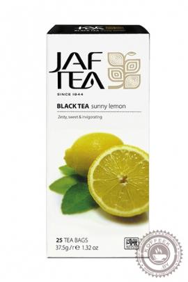 """Чай JAF TEA """"Sunny Lemon"""" (солнечный лимон) 25 пакетов черный"""