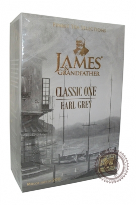 """Чай James & Grandfather """"Earl Grey """" черный с бергамотом 200 г"""