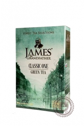 "Чай James & Grandfather ""Green Tea"" зеленый 100 г"