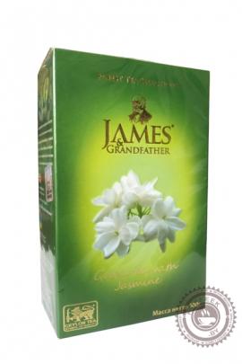 "Чай James & Grandfather ""Jasmine"" зелёный 100г"