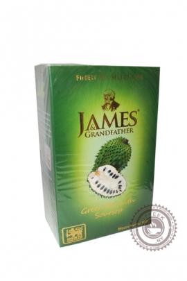 """Чай James & Grandfather """"Soursop"""" зелёный с суасепом 100 г"""