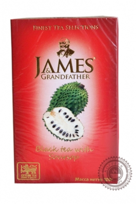 "Чай James & Grandfather ""Soursop"" черный 100 г"