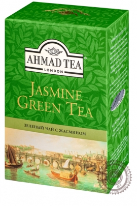 "Чай AHMAD ""Jasmine Green Tea"" 200г зеленый"