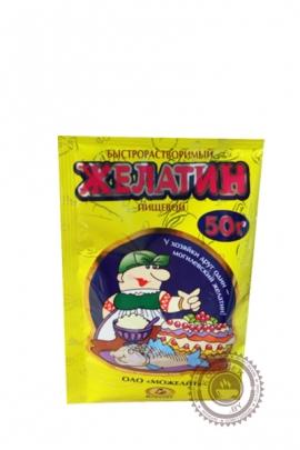 """Желатин пищевой """"Можелит"""", быстрорастворимый 50 г"""
