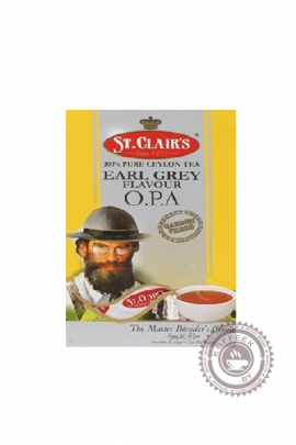 Чай St.Clair's Black tea Earl Grey O.P.A чёрный 100г