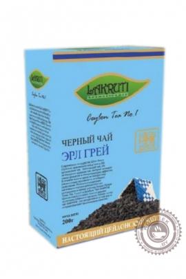 """Чай Lakruti """"Earl Grey"""" черный 100 гр"""