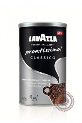 """Кофе LAVAZZA """"Prontissimo Classico"""" растворимый 95г"""