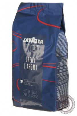 """Кофе LAVAZZA """"Crema e Aroma"""" 1000г зерно"""