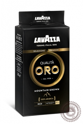 "Кофе LAVAZZA ""Qualita ORO MOUNTAIN GROWN"" 250г молотый"