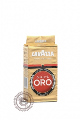 "Кофе LAVAZZA ""Qualita Oro"" 125г молотый"