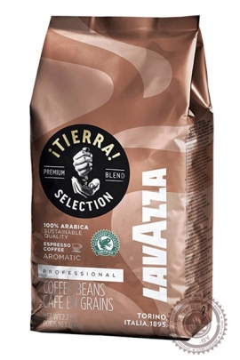 "Кофе LAVAZZA ""TIERRA Selection "" зерно 1000г"