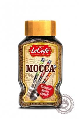 """Кофе Le Cafe """"Macca"""" 95г, растворимый с набором столовых приборов"""