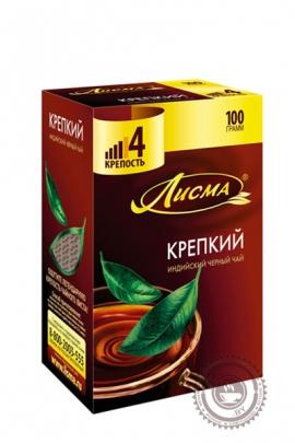 """Чай Лисма """"Крепкий"""" черный листовой, 100 г"""