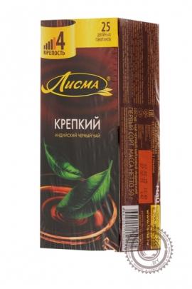 """Чай Лисма """"Крепкий"""" черный в пакетиках, 25 шт"""