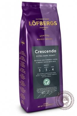 "Кофе  LOFBERGS LILA ""Crescendo №5"" (Крещендо) 400г зерно"