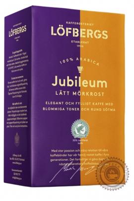 "Кофе LOFBERGS LILA ""Jubileum №3"" (Юбилейный) 500г молотыЙ"